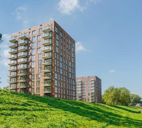 Arnhem – Prefab elementen 116 appartementen Gelderse Rooslaan