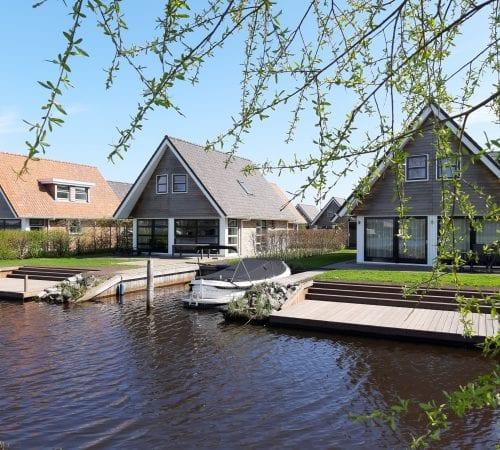 Waterpark Terherne – 32 luxe watervilla's
